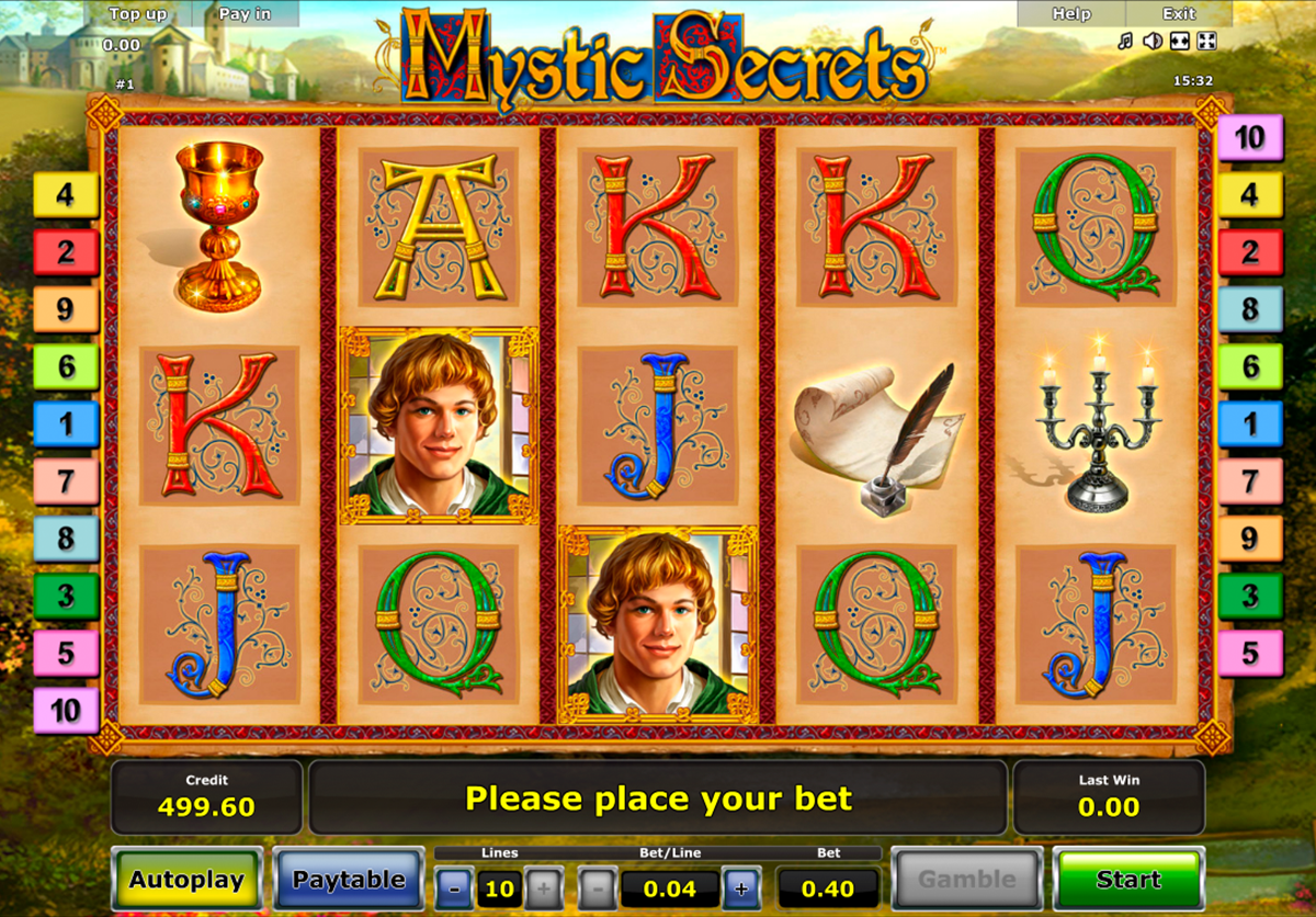 About online casino slots